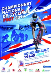 Affiche Route 2019 championnat france